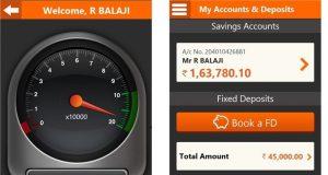ING Vysya Mobile app