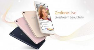 Asus goes beyond selfies, ZenFone Live brings live streaming beautification technology