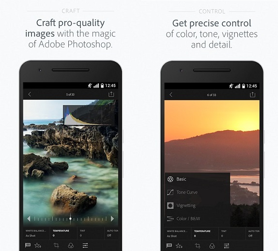 Adobe Lightroom Mobile now available for Android users