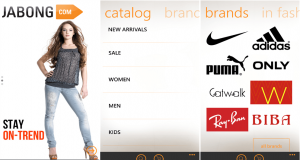 Jabong shopping app is now available on Windows device