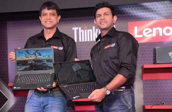 Lenovo unveils Range of Think products in India