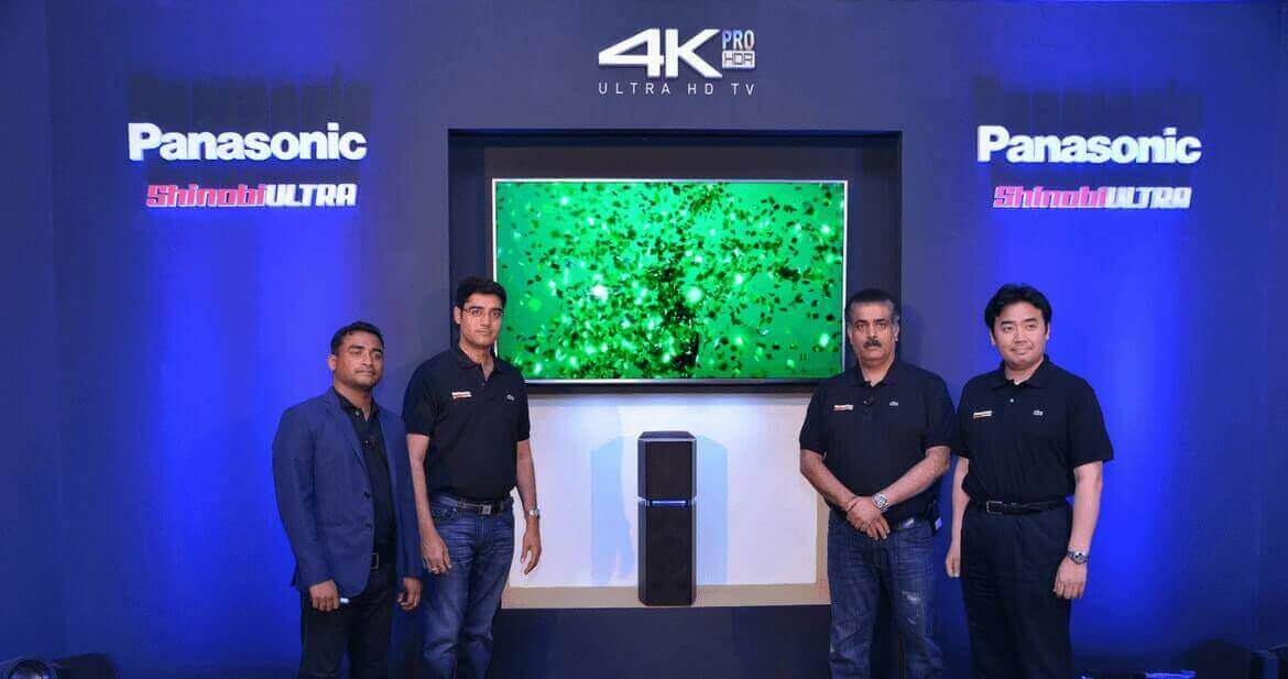 Panasonic launches new range of UHD HDR TVs in India starting at Rs. 78900