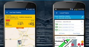 RailYatri includes 'Live Trip Tracking' features on its mobile app