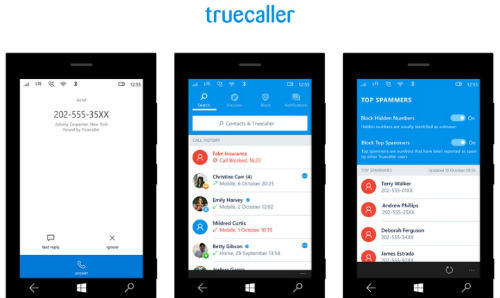 Truecaller improved caller ID and block features on Windows 10 device