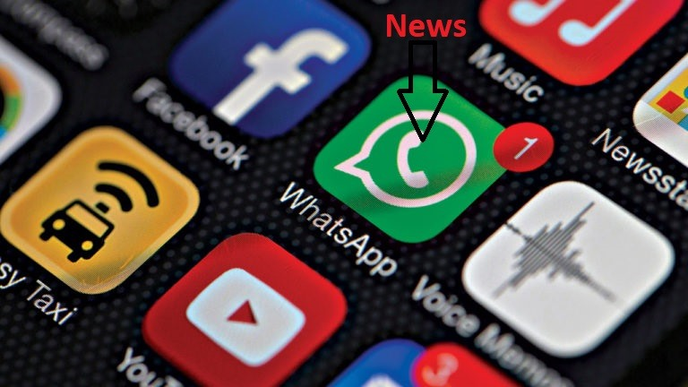 Now WhatsApp become the major news platform