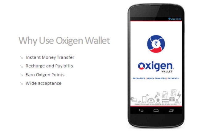 Oxigen launches India's first mobile wallet allows to share money over social network