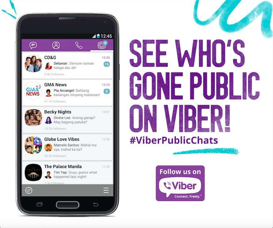 Viber rolls out Public Chats feature on its mobile app