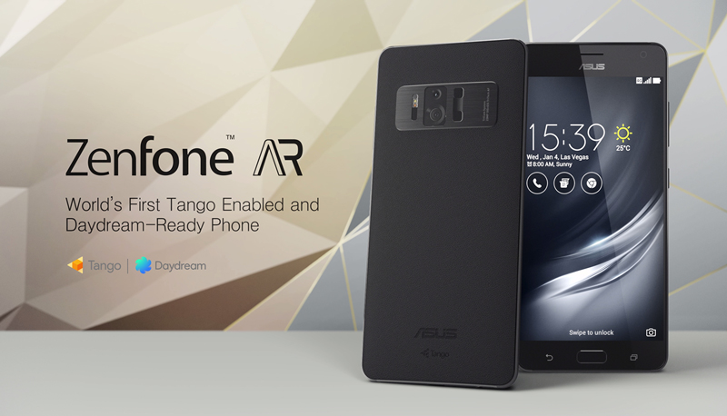Asus launches ZenFone AR-world's first smartphone with Google Daydream and Tango support