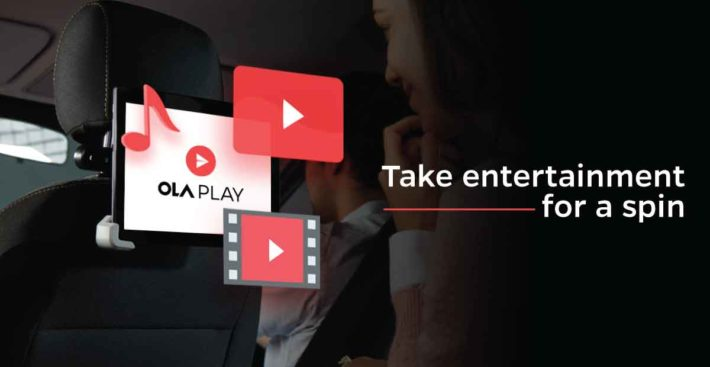 Ola extends its connected car platform Ola Play in Chennai and Pune