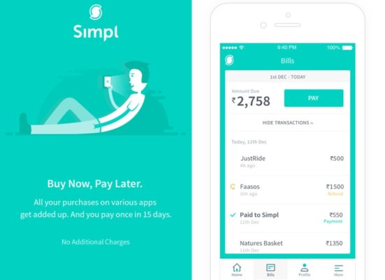FinTech startup Simpl secures undisclosed amount in Series A round funding