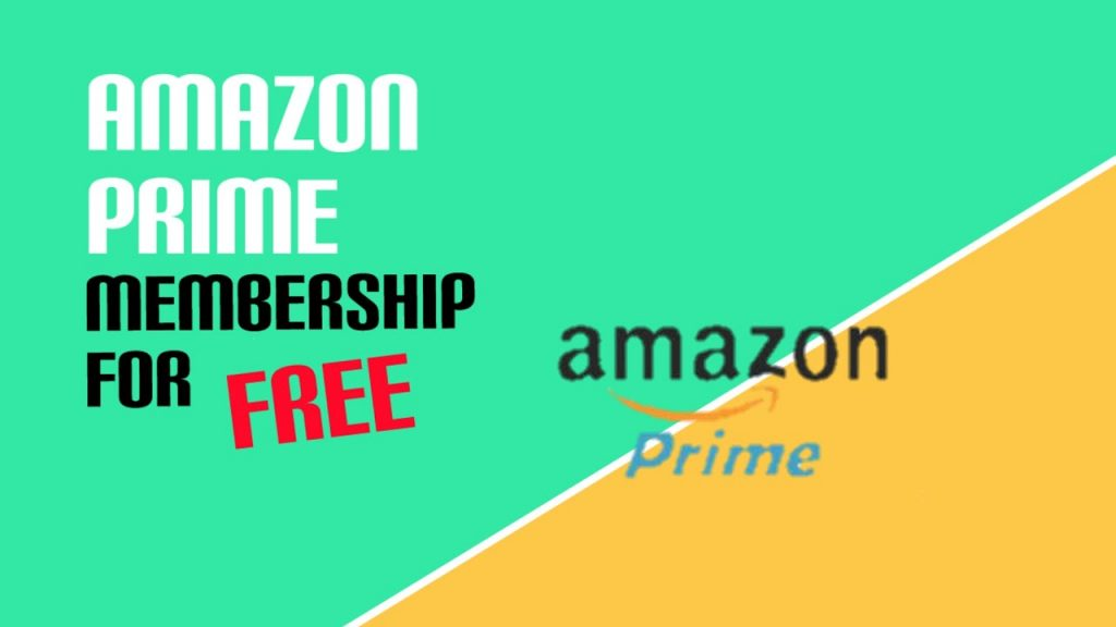 How to get free Amazon Prime subscription