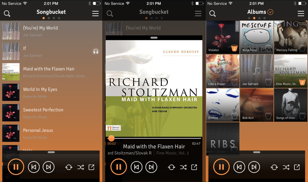 best free iphone music player