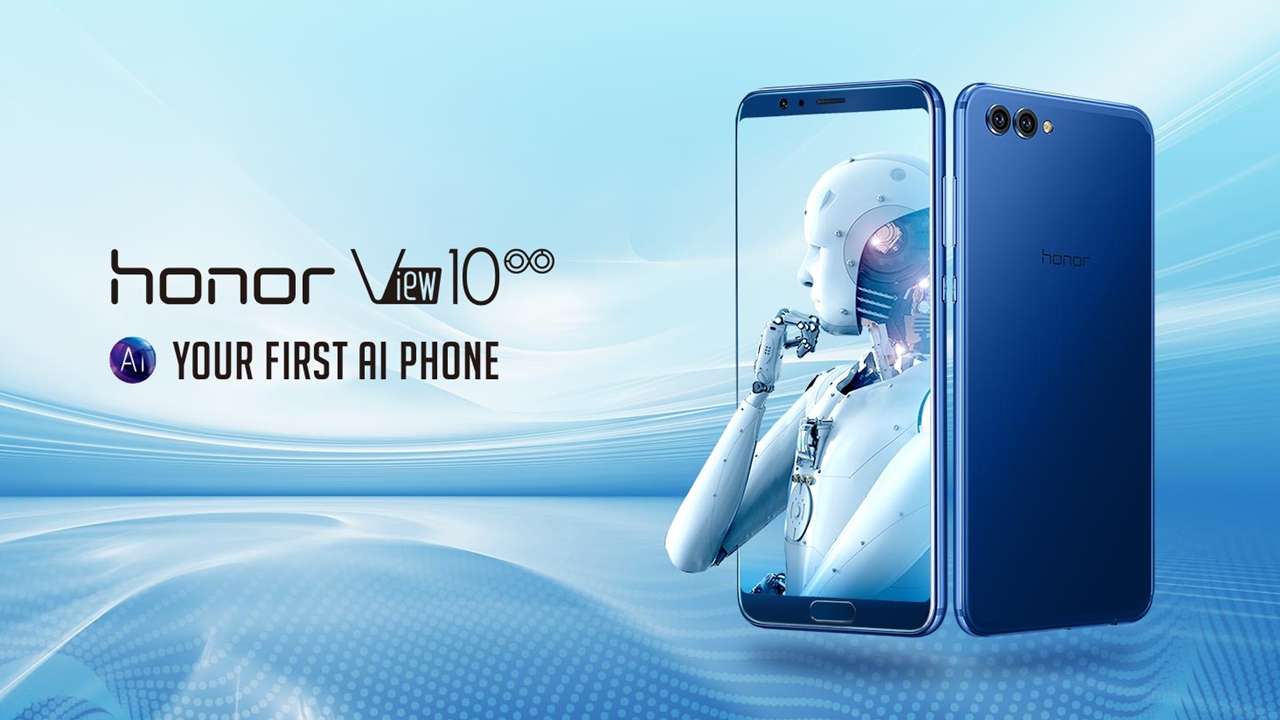 Artificial intelligence-enabled smartphone Honor View 10 to launch in India on January 8