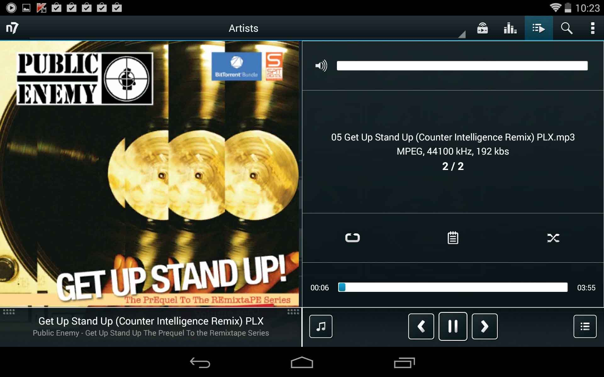 best audio players for android