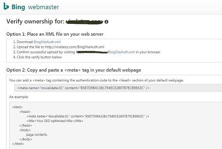 Step 2: Verify Your Website