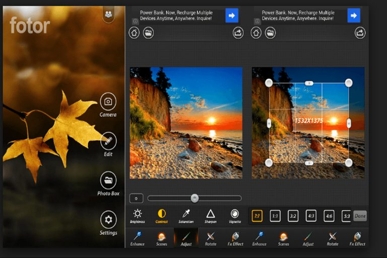 Приложение для придания бликов фотографиям