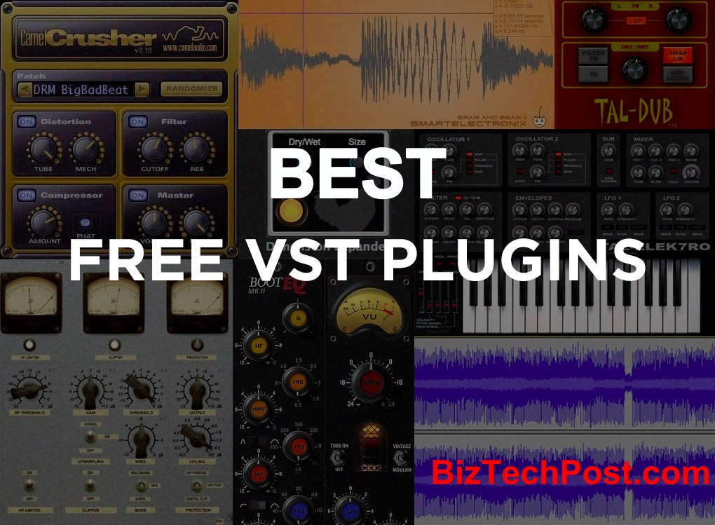 50 Best Free VST Plugins in 2019 (With Download Links