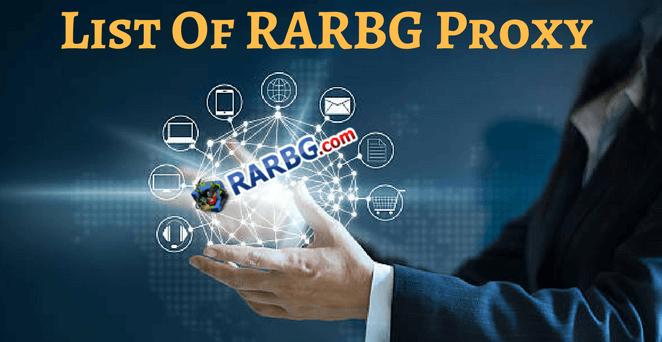 rarbg proxy and rarbg unblock