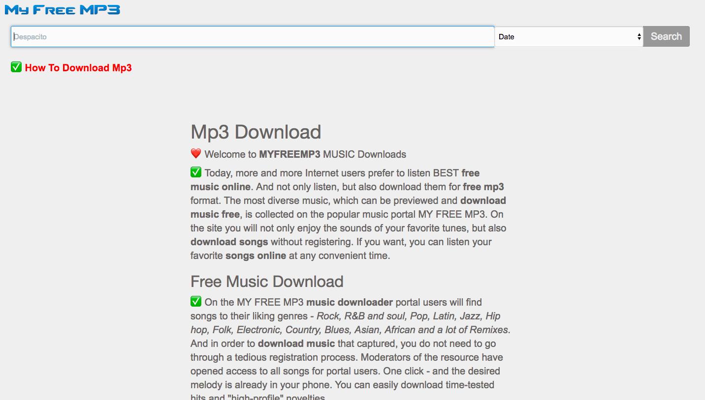 MyFreeMp3 Proxy