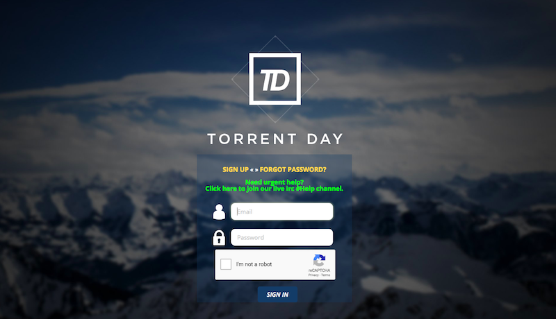 TorrentDay Proxy and Unblocked TorrentDay Mirror Sites