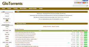 GloTorrents Proxy and Mirror sites