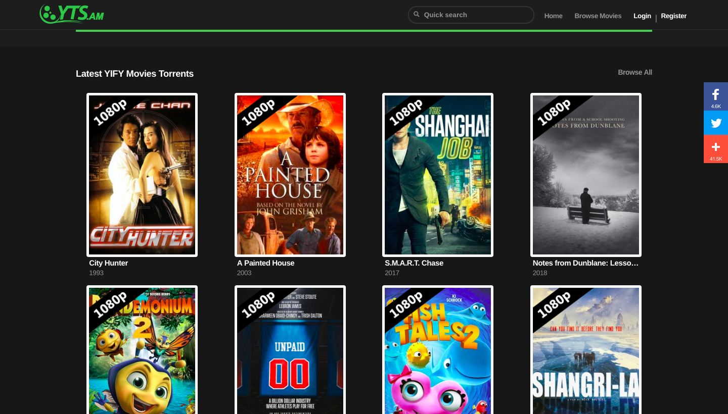 YIFY Proxy 2018: 30+ *NEW* Proxy/Mirrors Sites List (100% Working)