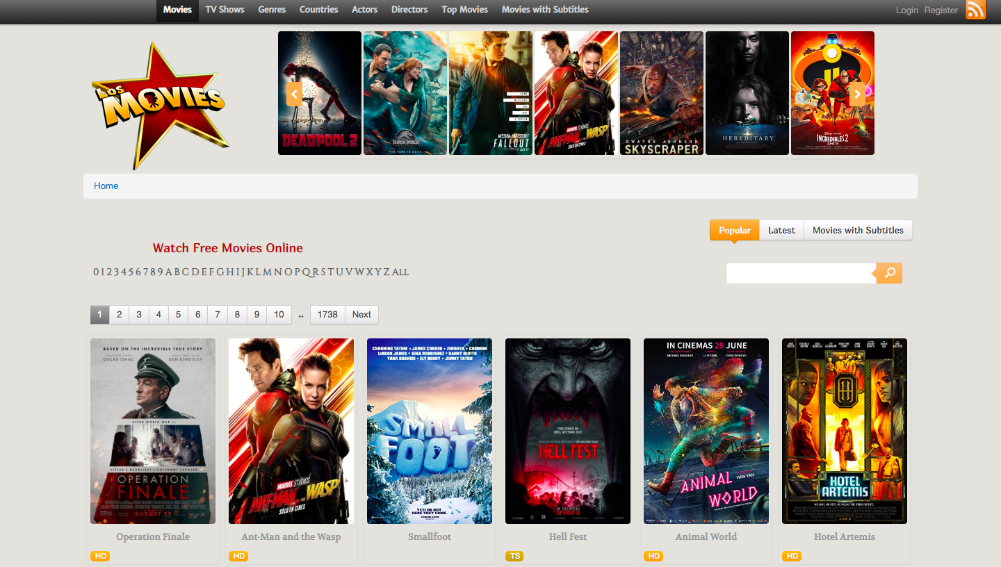 New proxy sites for movies