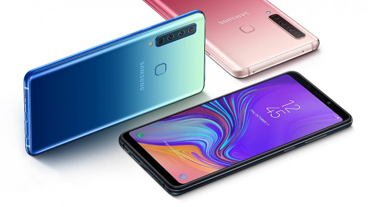 Samsung Launches Galaxy A9 With World's First Quad Rear Cameras