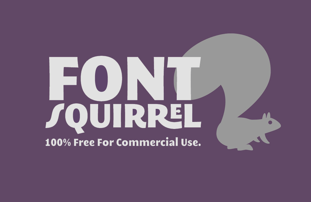 Download Free Fonts from font squirrel