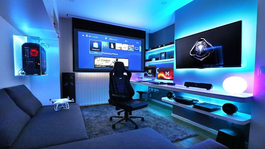How to build an epic gaming room