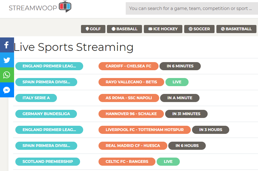 StreamWoop is hugely popular amongst North American viewers