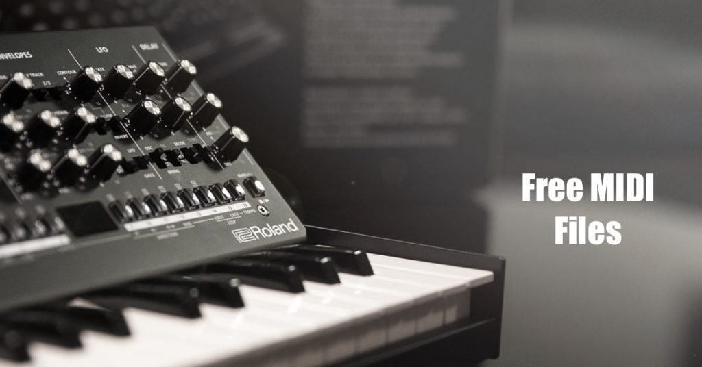 Best Free MIDI Files [Download Packs] of 2020
