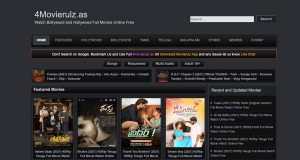 4Movierulz site For Free Movies Download