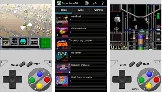 SNES Emulators for PC, Mac and android